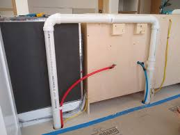 kitchen sink cabinet vent how to install the proper venting in a bowl sink in a