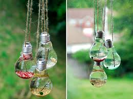 20 awesome diy ideas for recycling light bulbs water