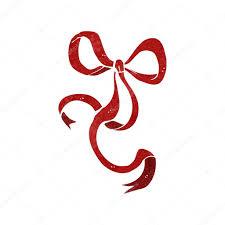 retro decorative ribbon bow stock vector