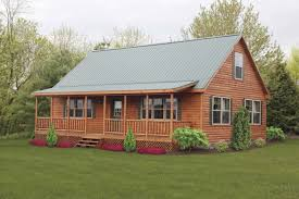 log cabin modular home floor plans cottage style porches and decks with craftsman style deck