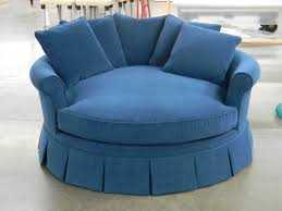 Large Swivel Chairs Living Room Furniture Awesome Oversized Round Chair With Ergonomic Designs