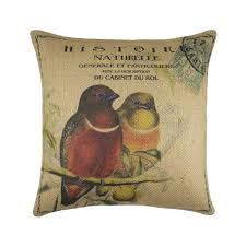 burlap pillows thewatsonshop
