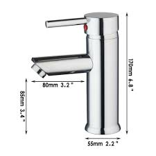 e pak ouboni 92438 8 solid brass single hole bathroom faucet basin
