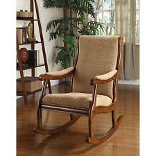 Rocking Chair Antique Styles Upholstered Rocking Chair Ebay