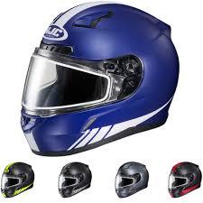 hjc helmets motocross hjc cl 17 streamline sled snowmobile moto protective head snow