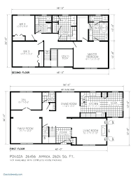 small 2 story house plans simple two story house plans small floor plans best of modern 2