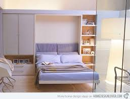 wall bed with sofa 15 space saving wall beds for small bedrooms home design lover