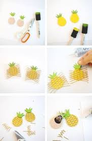 Paper Pineapple Decorations 25 Pineapple Crafts Pineapple Craft Craft Projects And Printables