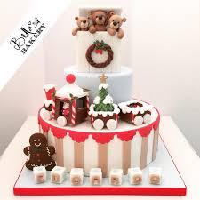 christmas fireplace cake by the little cake company cakes u0026 cake