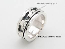 spinner rings sterling silver spinner rings spinner rings model mr0016