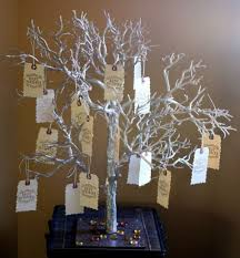 wedding wishing trees wishing trees on itsabrideslife wedding guestbook ideas