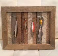 ohio barnwood fishing lure display fishing lures u0026 baits