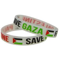 design silicone bracelet images 1piece save gaza wristband free palestine silicone bracelet with jpg