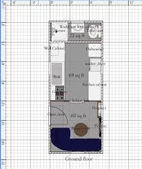 tiny plans free tiny house floor plans 8 x 20 house plan with install able
