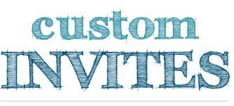 Custom Invites Nwi Custom Invitations Phete First Graphics