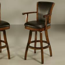 Bar Stool With Arms And Back Barstool With Arms Powell Aberdeen Stamped Back Big And Tall