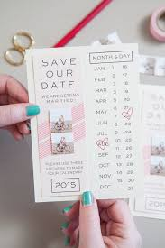 diy save the dates 24 creative diy save the dates your guests will brit co