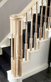Wooden Banister Spindles Wood Balusters 125 Square Wood Balusters Oak Wooden Stair Buy