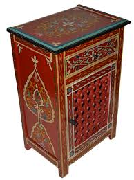 nightstand moroccan coffee table pink nightstand hand painted