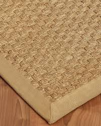 rug pads for area rugs lancaster seagrass rug sage khaki w free rug pad premade