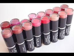 Makeup Mua mua makeup academy lipstick review
