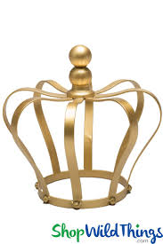 best 25 crown centerpiece ideas on pinterest princess crown centerpiece candle holder cake topper gold 8