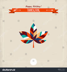 thanksgiving holiday wishes thanksgiving holiday greeting card maple leaf stock vector