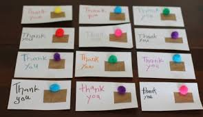 gift cards for kids crafty kids diy thank you cards classic play