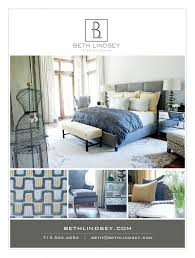 Houston Interior Designers by Ad For Beth Lindsey Interior Design As Seen In Houston Design