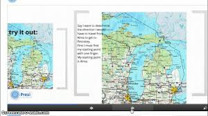 United States Map Compass by Michigan Maps And Compass Rose Youtube
