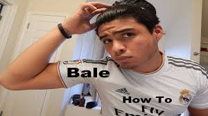 gareth bale new 2014 2015 hairstyle tutorial youtube