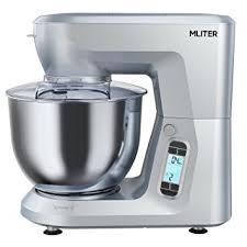 malaxeur de cuisine mliter de cuisine pétrin 1500 w avec 6 0l bol mélangeur acier