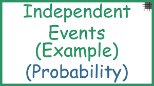 Independent by Probability Independent Events Example Youtube