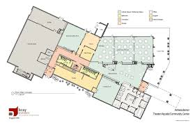 Recreation Center Floor Plan by Community Center