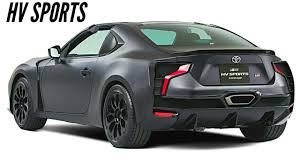 toyota sports car all new toyota gr hv sports 2018 a new way of enjoying cars