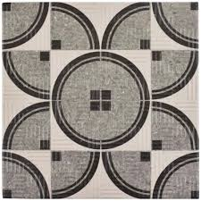 free halloween tiled background merola tile arte grey 9 3 4 in x 9 3 4 in porcelain floor and
