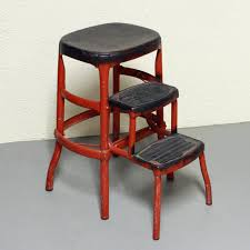 Cosco Bar Stool Vintage Kitchen Step Stool Chair Today