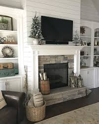 see this instagram photo by ourvintagenest 1 170 likes fireplace hearth decortv mantlewhite