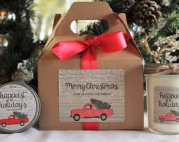gift sets for christmas candle gift etsy