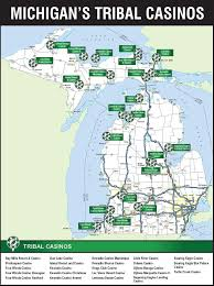 Michigan State Land Map by Michigan Casino Update State Tribes In Negotiations On Revenue