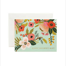 cupcake with flowers mother u0027s day card ana u0027s papeterie