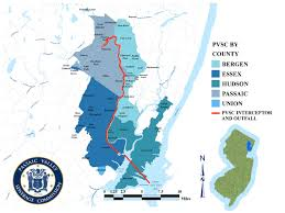 Map Of Essex County Nj Passaic Valley Sewerage Commission Who We Are