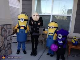 Despicable Halloween Costumes Gru Crew Despicable 2 Family Costume Photo 4 8