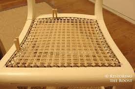 Caning A Chair Restoring The Roost Chair Caning 101