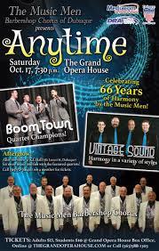 spirit halloween dubuque the music men of dubuque u0027s 66th annual show anytime u2013 dubuque365