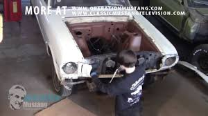 67 mustang fender how to remove mustang fenders