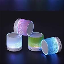 Led Light Bluetooth Speaker Column Portable Small Mini Bluetooth
