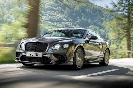 bentley dark green 2017 bentley continental supersports is fastest accelerating