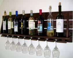 reclaimed wood wine rack wine bottle wine glass pallet wood