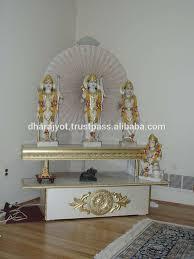 decoration of temple in home home mandir design ideas